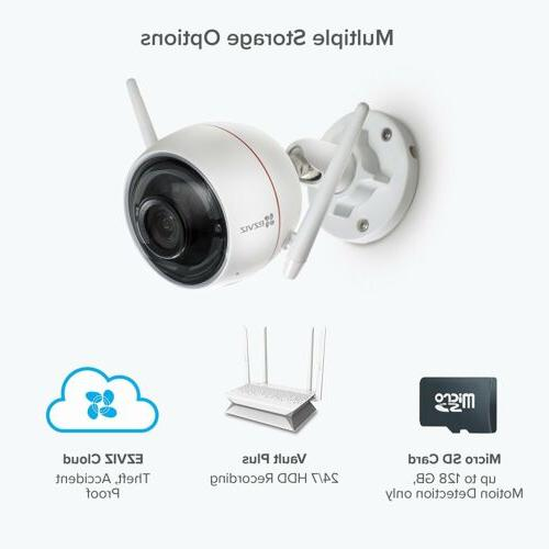 2 Pack 1080p WiFi Activated Alarm Security System