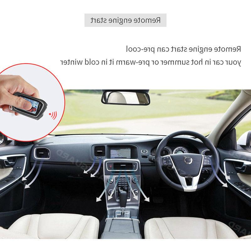 EASYGUARD car alarm vibration timer
