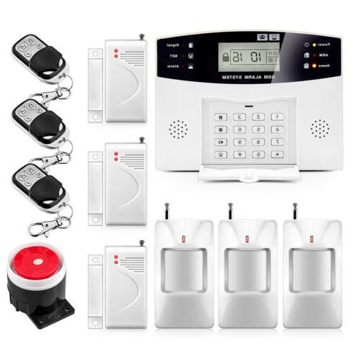 2g gsm alarm system security home support