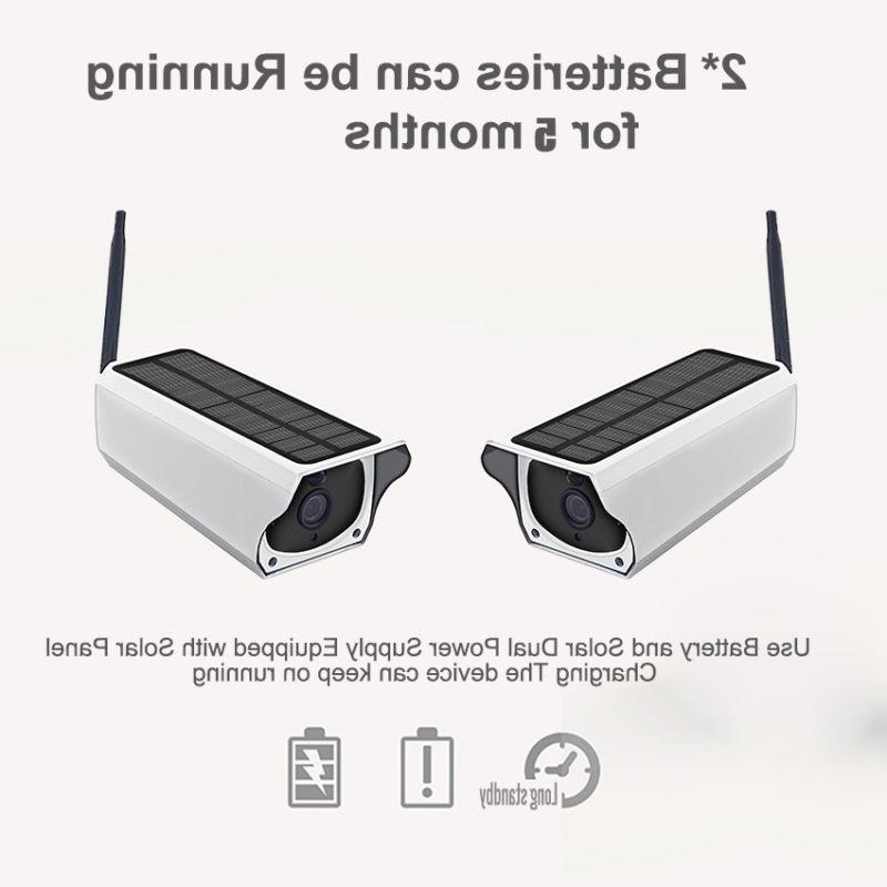 2MP Security Camera Wireless Remote Monitoring Solar Video W