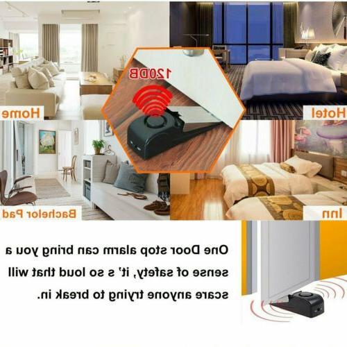 2pcs Stop Home Wireless System Portable Alert