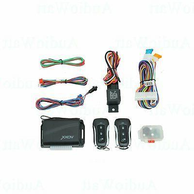 APS25Z 800FT Car Alarm System 2 Universal Actuator