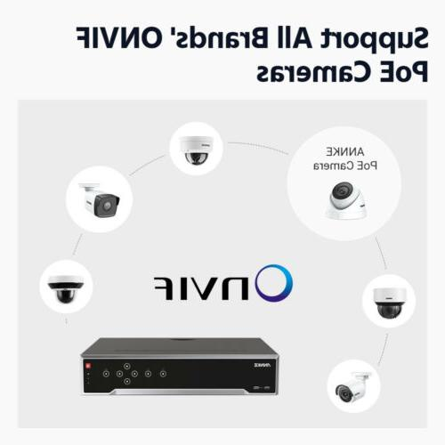 ANNKE 12MP 4K 8MP POE Security Camera System 7x24 Recording