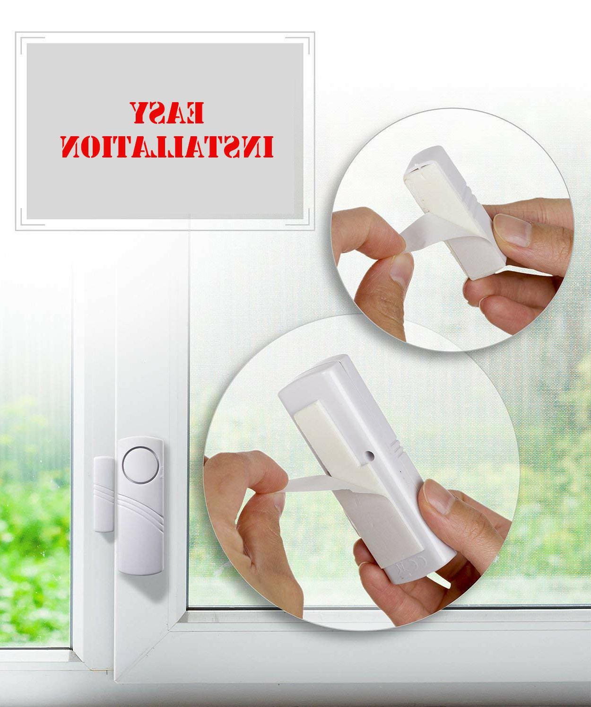 4 Alarm Device Door Window