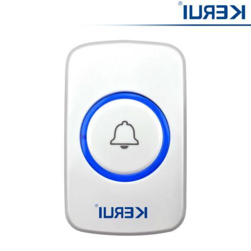 433MHz KERUI F51 Wireless SOS/Panic/Doorbell Button For Secu