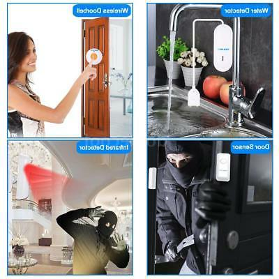 OWSOO WiFi Alarm System Water Detector Kit J3