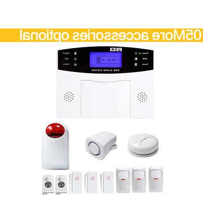 GSM 108 & Voice Alarm System LCD Auto BS