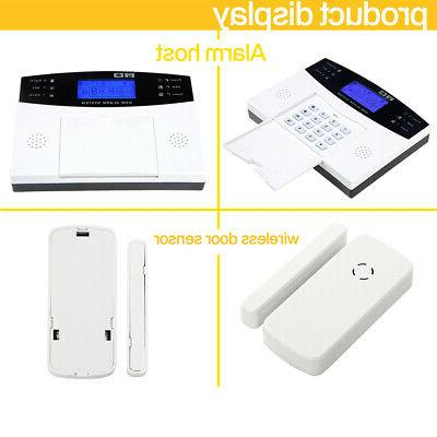 & Wired Alarm System LCD Auto BS