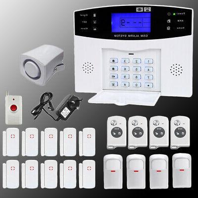 GSM Zones & Alarm Security System Auto BS