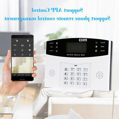 433MHz RF Wireless GSM Alarm Security