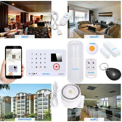 OWSOO 433MHz Wireless Auto dial Alarm Security D0I7