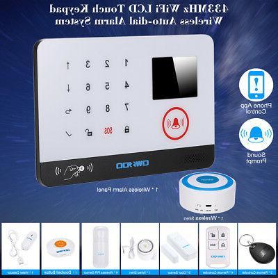 OWSOO 433MHz Wireless Security