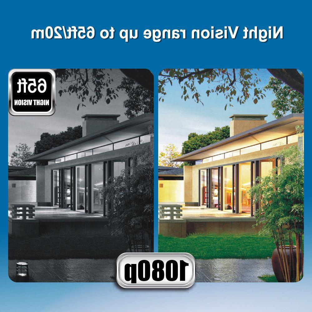 16CH 1080P 3.0MP 8x Siren Alarm System 1TB HDD