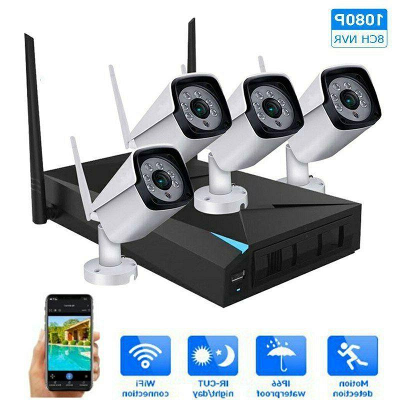 4ch wireless 1080p nvr outdoor ir wifi