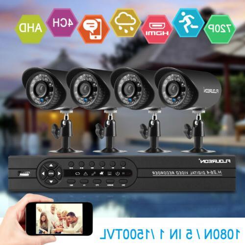 FLOUREON CCTV Home Camera Night