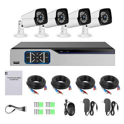 4ch 1080p dvr cctv outdoor security camera