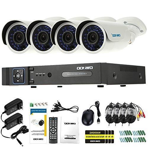 4ch ahd 1500tvl cctv surveillance