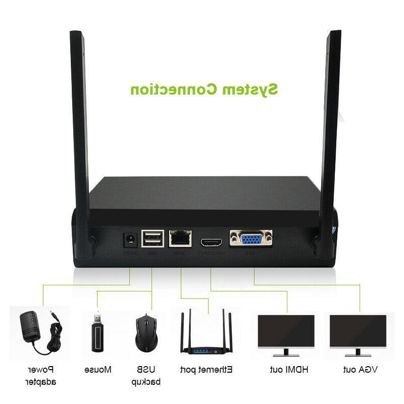 4CH Wireless Outdoor System APP