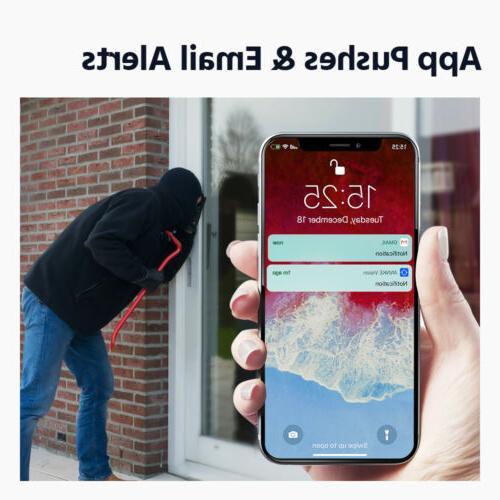 ANNKE 8MP H.265+DVR Dome IP67 Home Security 4TB