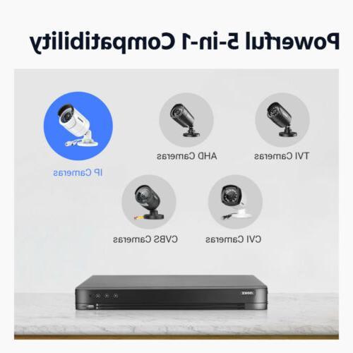 ANNKE 8MP H.265+DVR 5MP HD PIR Dome Camera Security