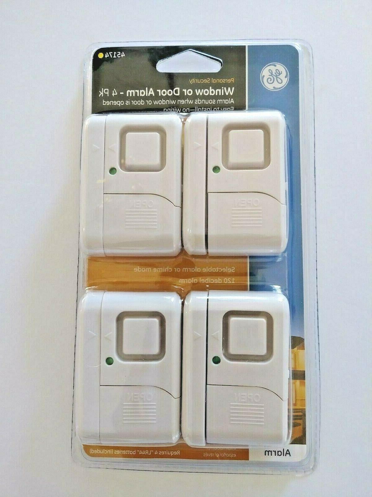 4pk wireless window and door alarm 45174