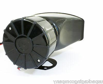 5 Sound Car Alarm Fire Police Megaphone Siren MIC System Kit