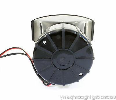 5 Sound Car Fire Police Megaphone Horn Siren System Kit