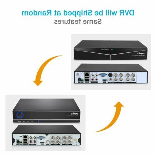 SANNCE 8CH DVR 4 720P IR Security System