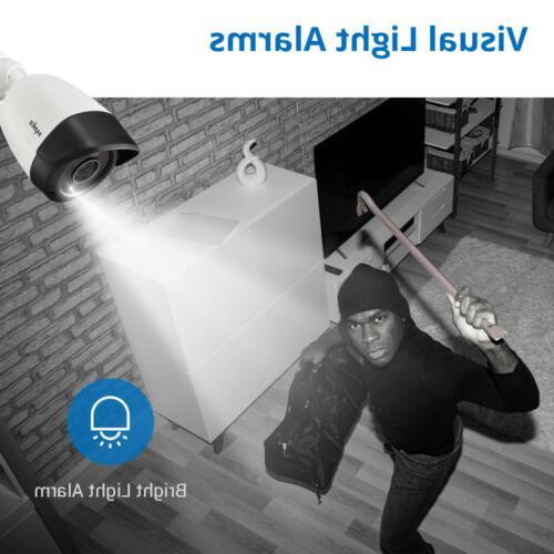 SANNCE 5MP Camera System Human 1TB