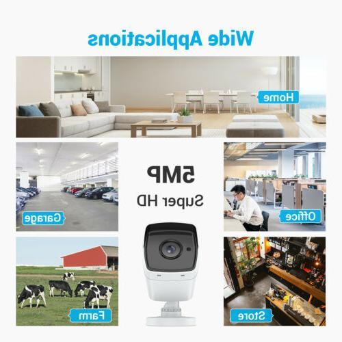 ANNKE 5MP/8MP Camera System DVR Home Outdoor 0-4TB