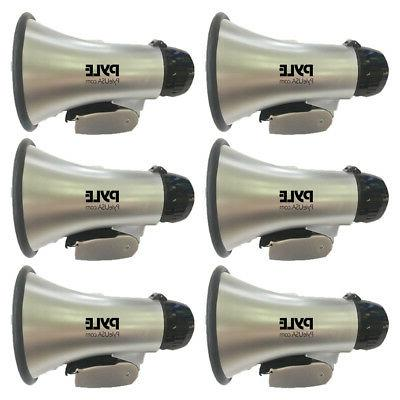 Pyle PA System Portable Horn Megaphone Speaker with Siren A