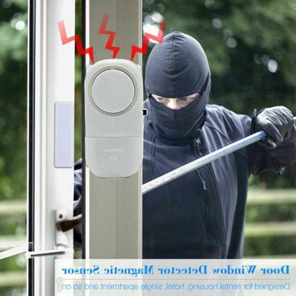 6 pcs Home Window Door Burglar ALARM System Magnetic Sensor