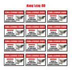 60 Alarm Surveillance Security Video Camera Sticker CCTV Sys