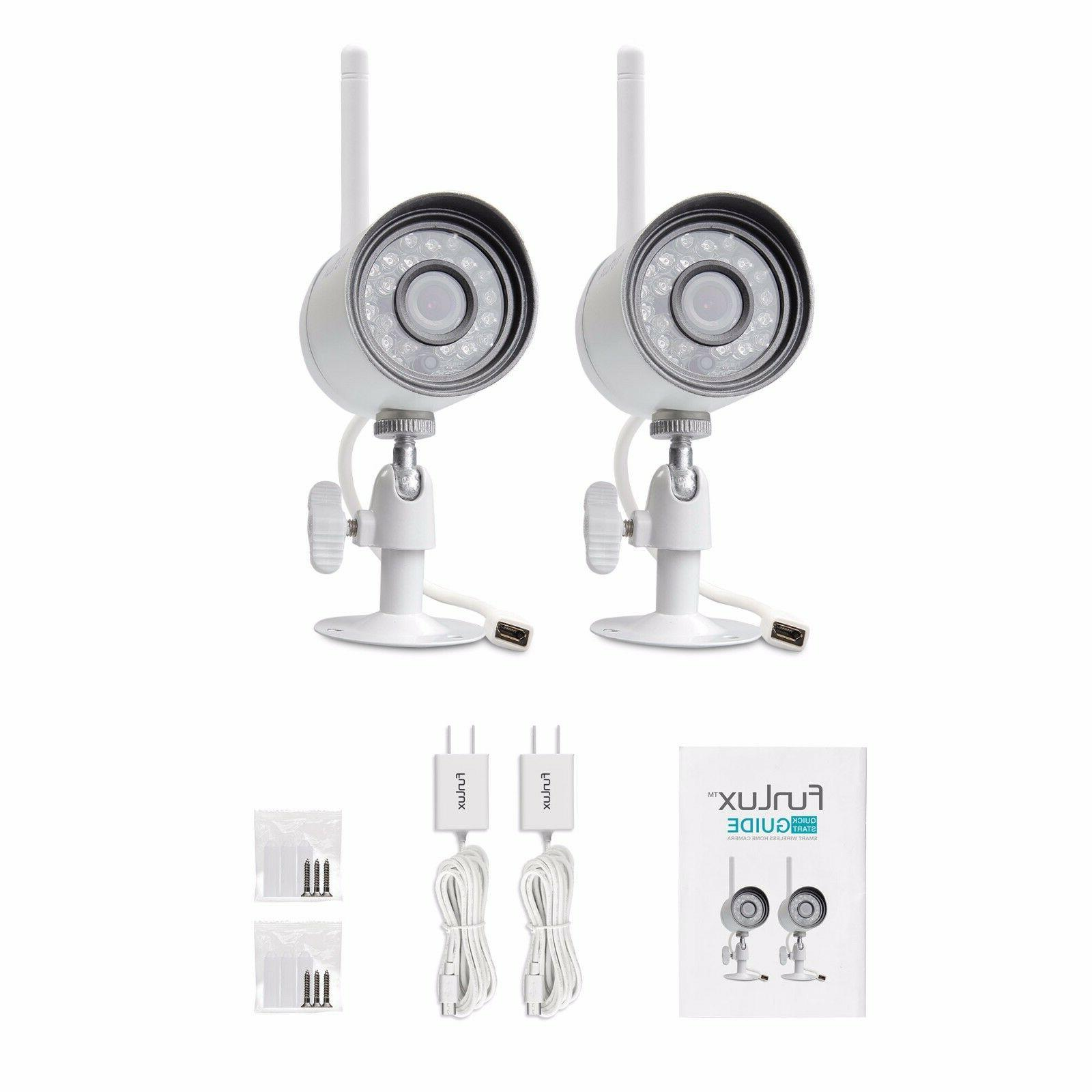Funlux 1280*720p IP Network Wireless Home Security Camera