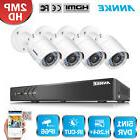 ANNKE 1080P 8CH CCTV DVR Push Alarm Home Security Camera Sys