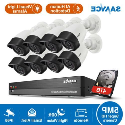 8ch dvr 5mp video security camera system