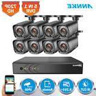 ANNKE 8CH 1080N DVR Outdoor 1080P Video Night Vision CCTV Se