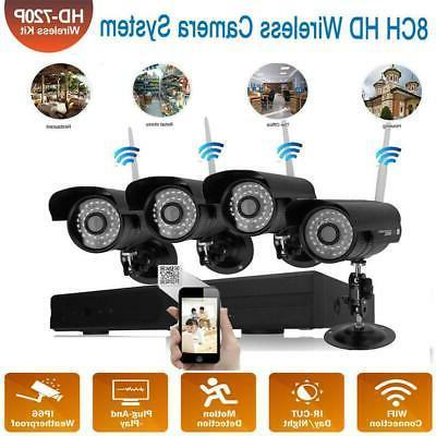wireless 4ch 1080p nvr outdoor wifi ir