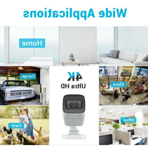 ANNKE Ultra 5MP/8MP CCTV System 8CH Outdoor