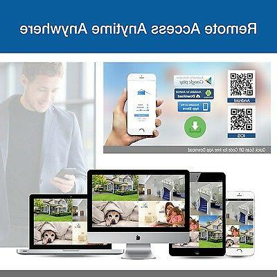 ANNKE 1080P 8CH CCTV DVR Push Alarm Home