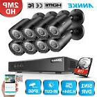 ANNKE 5in1 1080P Lite 8CH DVR 1TB 2000TVL 2MP CCTV Security