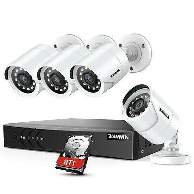 ANNKE 8 Channel Security Camera System 5-in-1 1080P