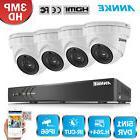 ANNKE HD 3MP 4CH H.264+ DVR 1920x1536P Outdoor IR CCTV Camer