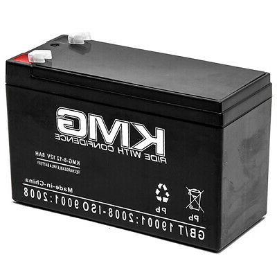 Battery 12V 8Ah  - Emergency Lighting Fire Alarm Security Sy