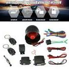 Car Auto Burglar Alarm Keyless Entry Security System With 2