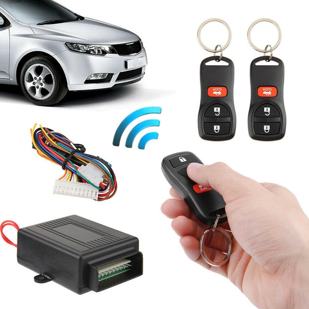 Universal Car Central Door Lock Keyless Entry System Remote