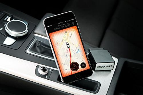 CarLock - Advanced Time 3G Car System. Comes with & App. Tracks Your Real Time & Notifies You of Suspicious Behavior.OBD