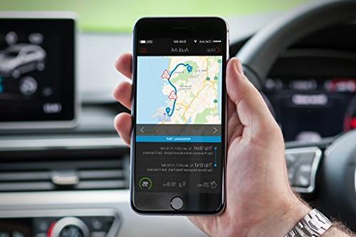 CarLock Gen Advanced Time Car & Phone Easily Tracks in Real Time & Notifies You of Behavior.OBD Plug&Play