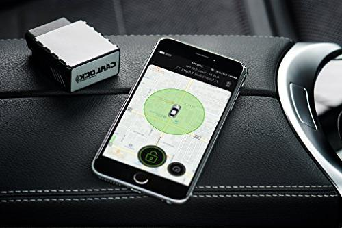 CarLock - 2nd Advanced Car Tracker Alert System. Comes with Device & App. Tracks Your Car Real Time & You Behavior.OBD