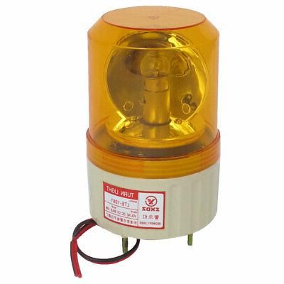 DC 12V Industrial Alarm System Rotating Warning Light Lamp O